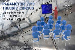 Paramotor theorie cursus